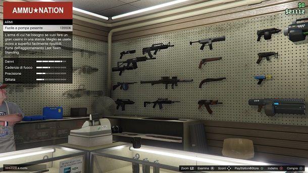 Fucile a pompa pesante GTA Online