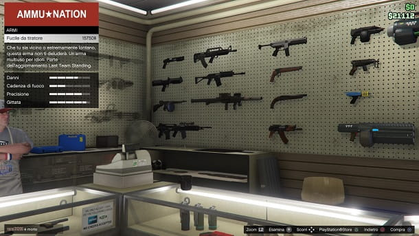 Fucile da tiratore GTA Online