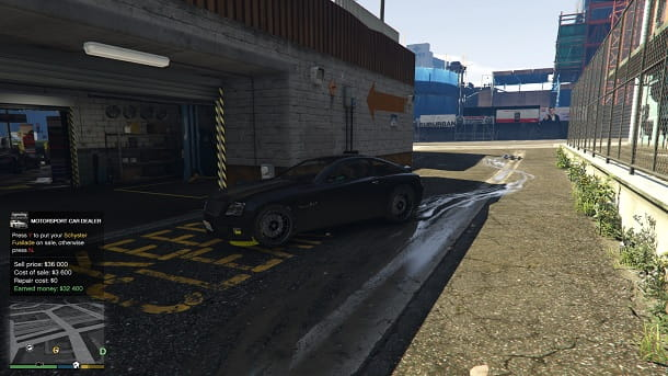 GTA 5 consegna auto