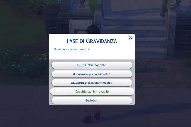 Gravidanza The Sims 4