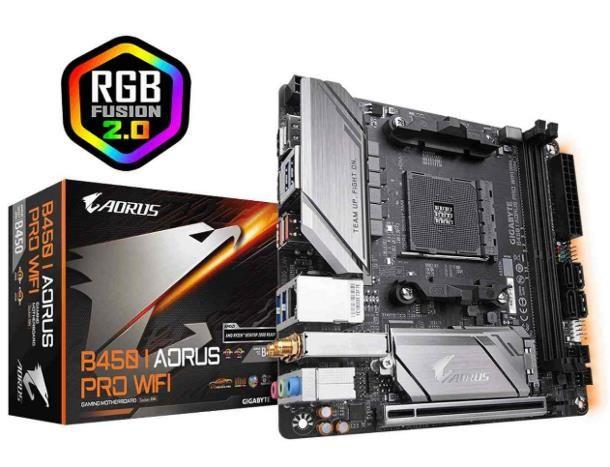 Gigabyte B450 i Aorus Pro (AMD)