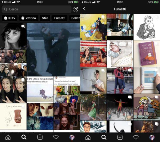 Instagram esplora