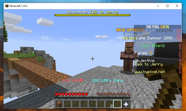 Migliori server SkyBlock Minecraft