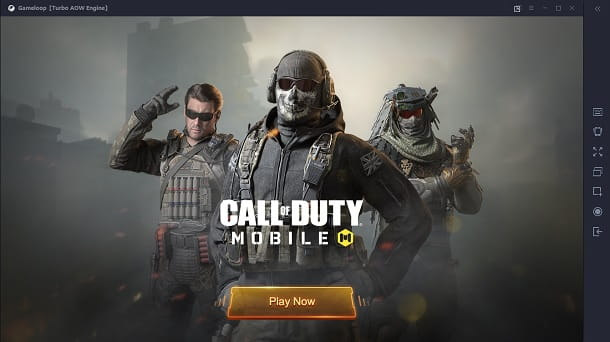 Play Now COD Mobile PC