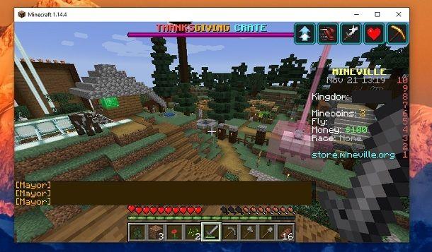 Regno Minecraft Mineville