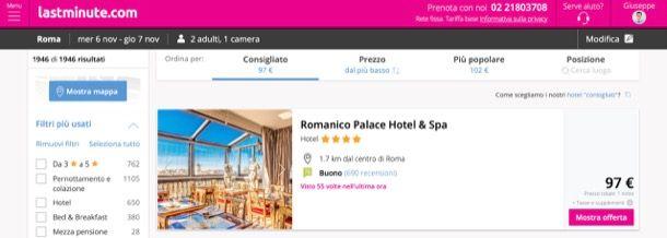 Altri siti alberghi di lusso scontati