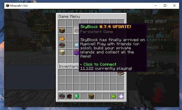 SkyBlock Hypixel Minecraft