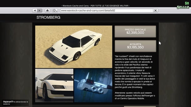 Stromberg GTA Online