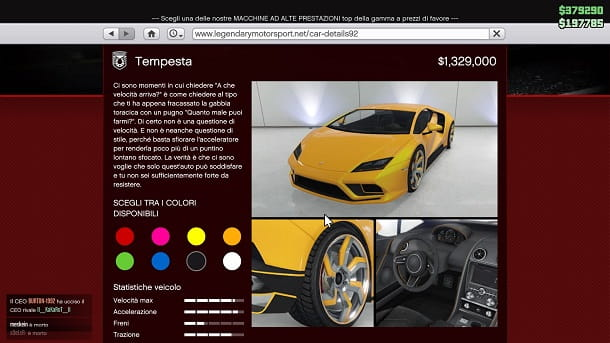 Pegassi Tempesta GTA Online