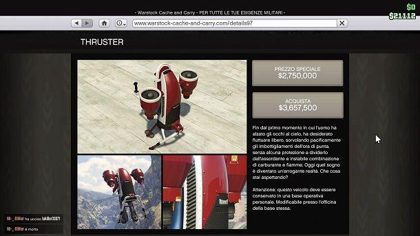 Thruster GTA Online