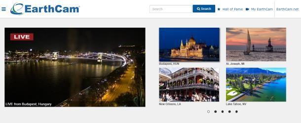 Come vedere le telecamere cittadine su Internet