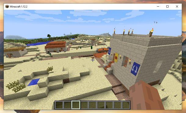 Villaggio Millénaire Minecraft