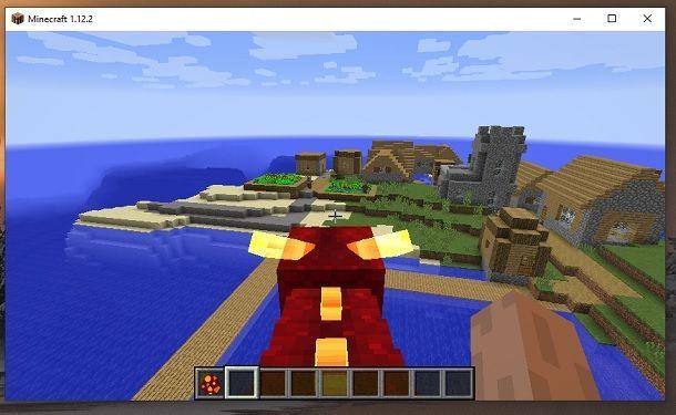 Vola drago Minecraft