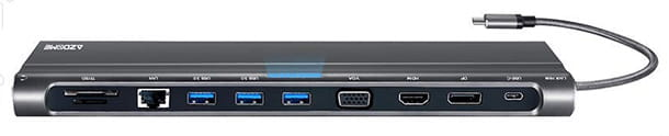 Foto di un hub USB-C