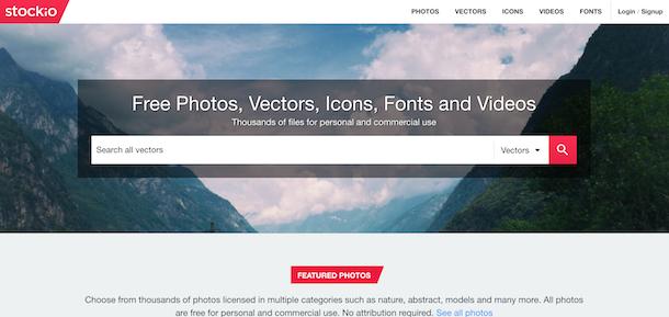 Altri siti per immagini vettoriali