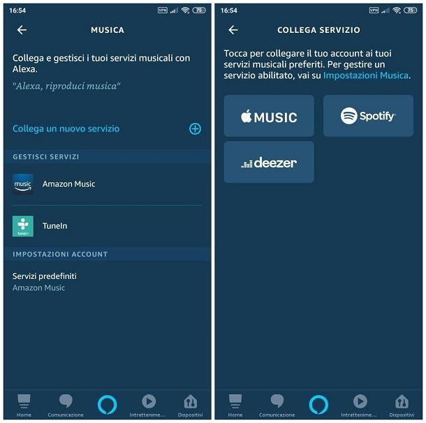Come attivare Spotify su Alexa