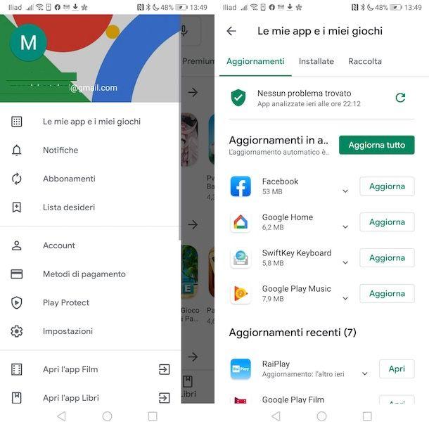 Come aggiornare Google Maps su Android