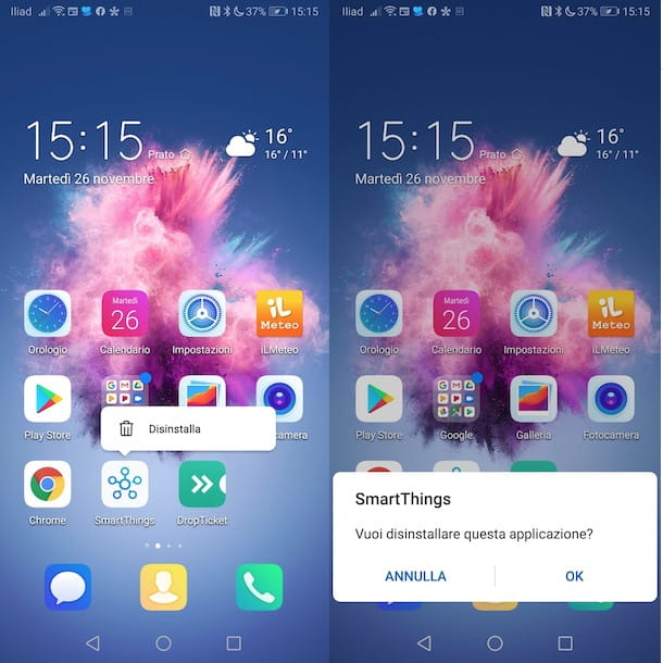 Come cancellare un'app a pagamento Android