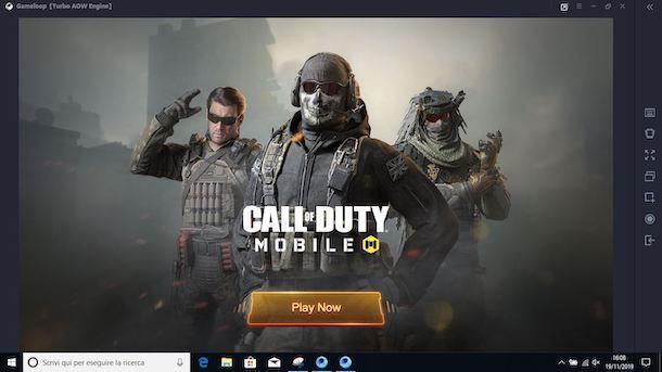 Come giocare a Call of Duty Mobile su PC