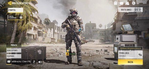 Come giocare a Call of Duty Mobile