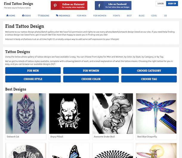 Find Tattoo Design