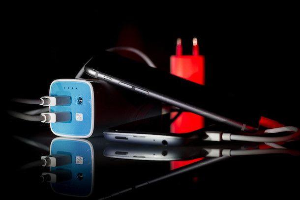 Power bank e smartphone