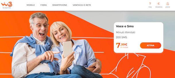 Offerte mobile WINDTRE
