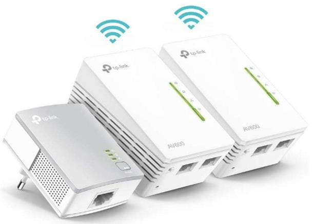 TP-Link TL-WPA4220T Powerline Wi-Fi Kit da 3
