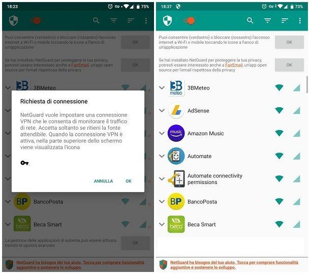 Migliori firewall Android