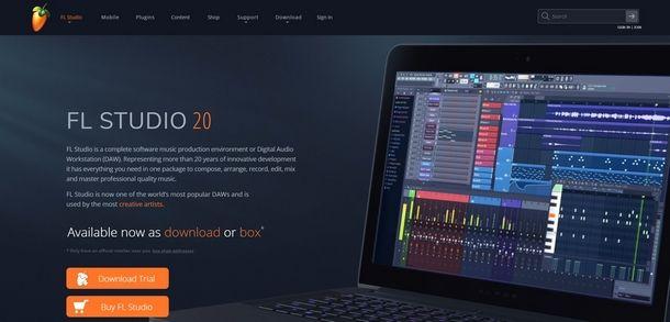 FL Studio per creare mashup
