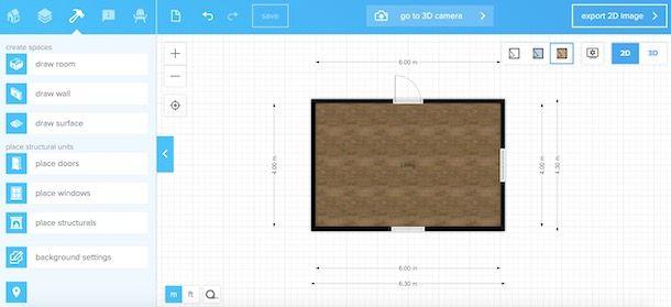 Siti per disegnare planimetrie