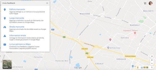Come aggiornare Google Maps su PC