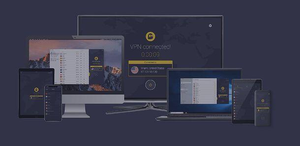 Dispositivi supportati da CyberGhost VPN