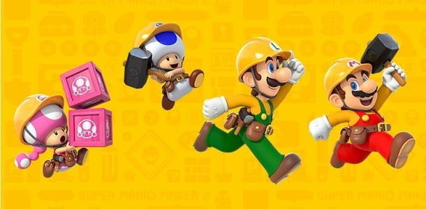 Il classico Super Mario ritorna con Mario Maker 2
