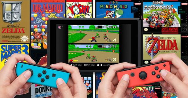 Riscoprire i classici NES su Switch