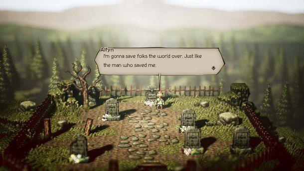Octopath Traveler è un omaggio al classico RPG