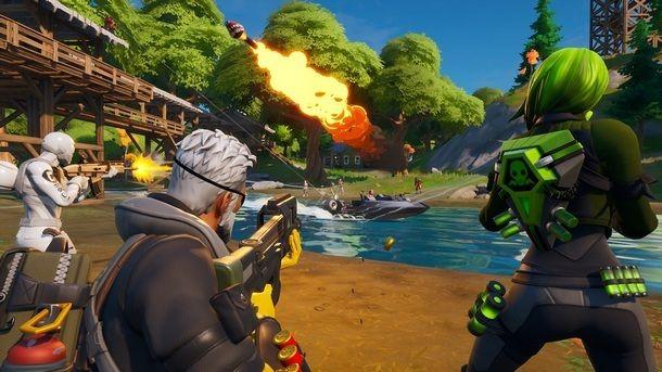 Fortnite è uno dei migliori giochi multigiocatore online