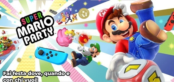 Il re dei party su Switch è Super Mario Party