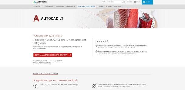 Planimetrie 2D grazie ad AutoCAD LT