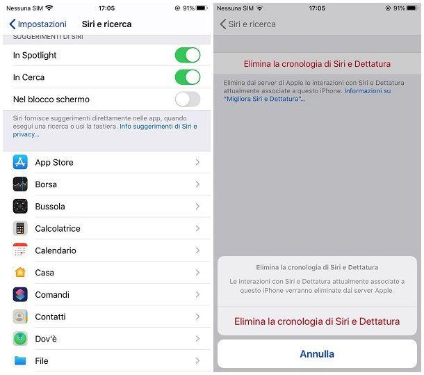 Come eliminare ricerche di tendenza su iPhone