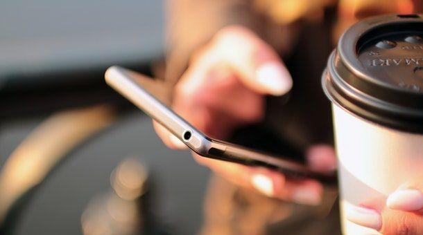 Foto di uno smartphone