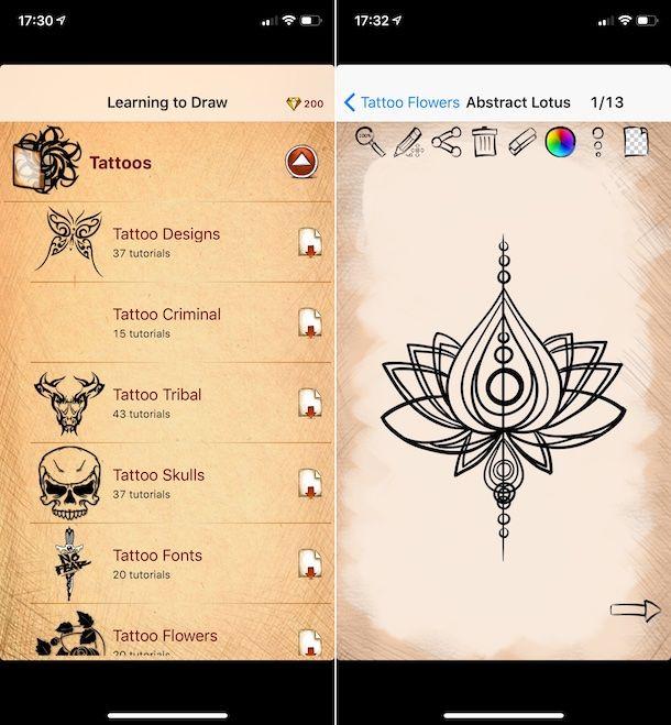 Imparare a disegnare tatuaggi e Mehndi