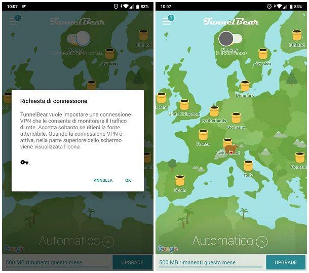 App per WiFi protette
