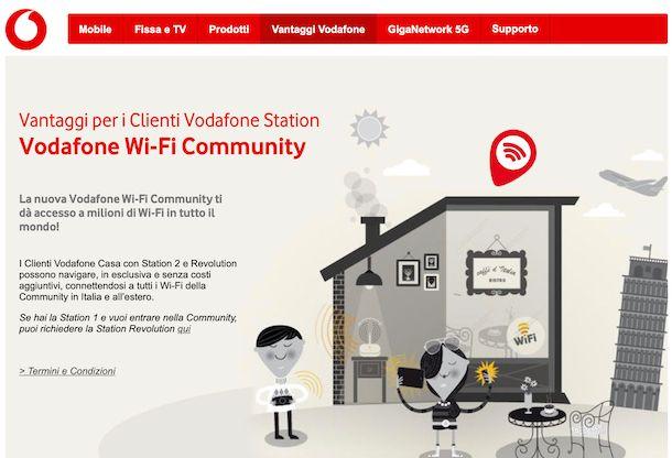 Vodafone Wi-Fi Community
