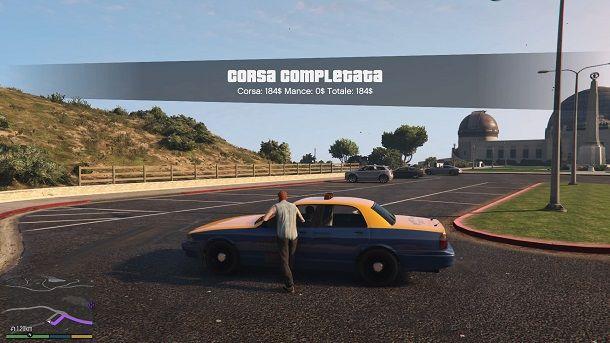 Fare il taxista GTA offline