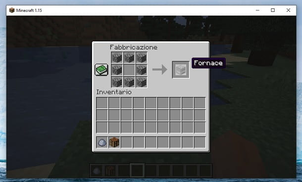 Fornace Minecraft