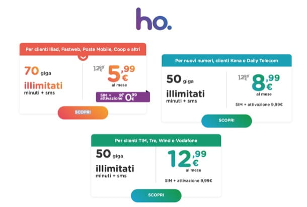 Offerte ho-mobile