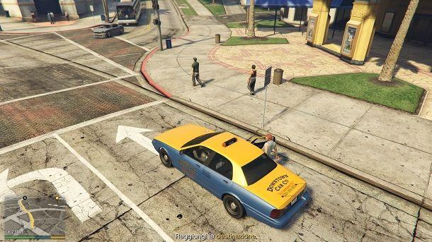 Taxi GTA 5 offline