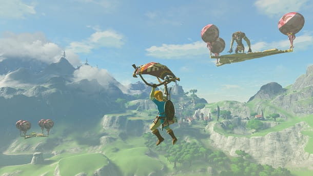 The Legend of Zelda Breath of the Wild Migliori giochi Wii U