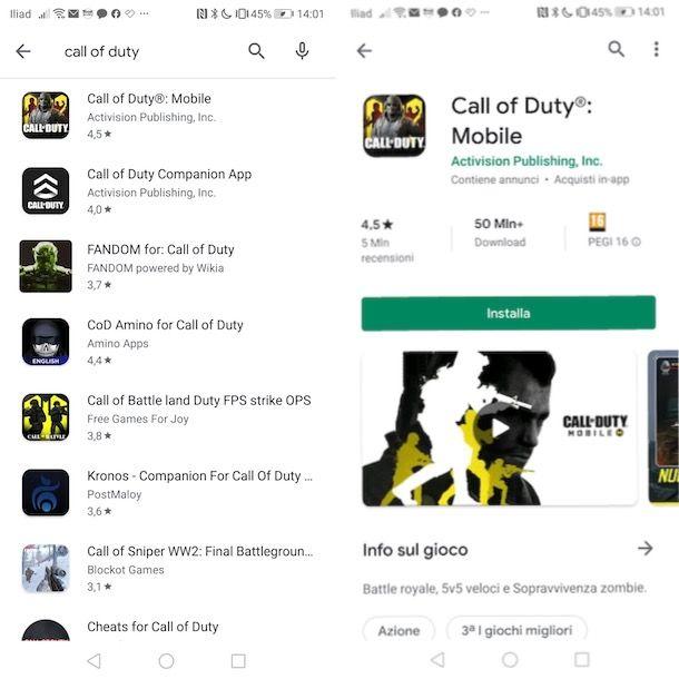 Come scaricare COD Mobile su Android